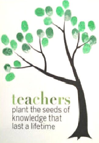 TEACHERS PLANT THE SEEDS OF KNOWLEDGE THAT LAST A LIFETIME.